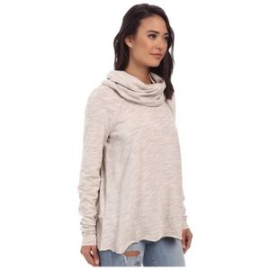 FREE PEOPLE FP BEACH COCOON CROWL NECK SWEATER OS